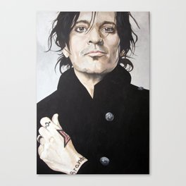 Mr Tommy Lee Canvas Print