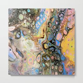 Galaxy Chaos Metal Print