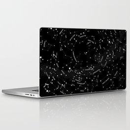 Constellation Map - Black Laptop & iPad Skin