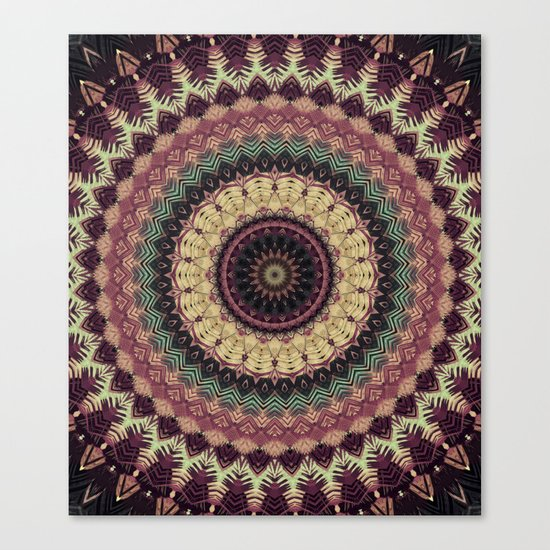 Mandala 273 Canvas Print