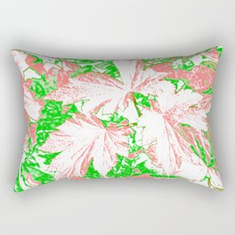 GERANIUM LEAVES PINK Rectangular Pillow