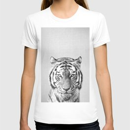 Tiger - Black & White T-shirt