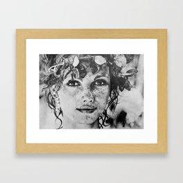 Water Nymph Framed Art Print