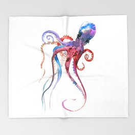 Octopus Throw Blanket
