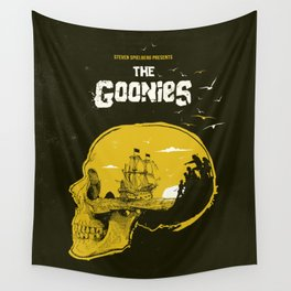 The Goonies art movie inspired Wall Tapestry