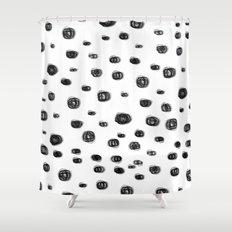 dots dots Shower Curtain