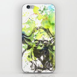 May the Force be with You Yoda Star Wars iPhone Skin