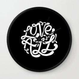 LOVE ALL Wall Clock