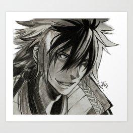 Oda Nobunaga The Fool Art Print