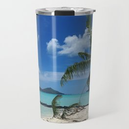 Bora Bora Palm Tree Travel Mug