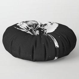 A Noir Witch Floor Pillow