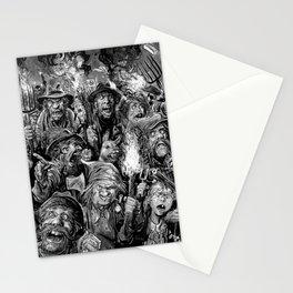 Frankenstein Villagers Stationery Cards