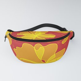 Chinese flowers Fanny Pack