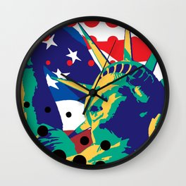 Mona LUSA Wall Clock