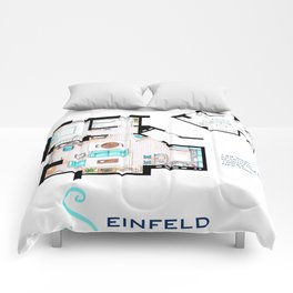 Jerry Seinfeld Apartment Comforters