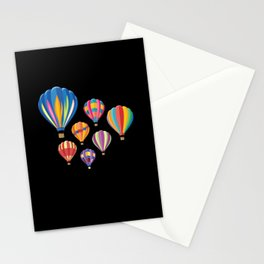 Hot Air Balloon Balloning Stationery Cards