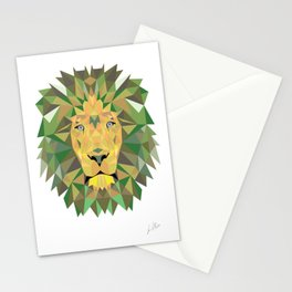 Geomatic Lion  Stationery Cards