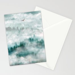 Himalayan soaring Stationery Cards
