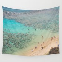 aloha Wall Tapestries featuring Aloha by Crossbird