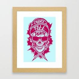 Create Till Death Framed Art Print