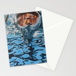 Cedar Strip Kayak Stationery Cards