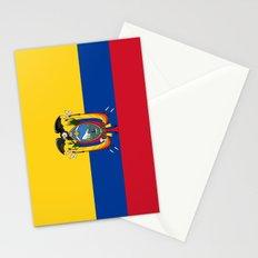 Flag of Ecuador -ecuadorian,Inca,Kichwa,Quito,america, South america,Spanish,Amazonia,latin america Stationery Cards