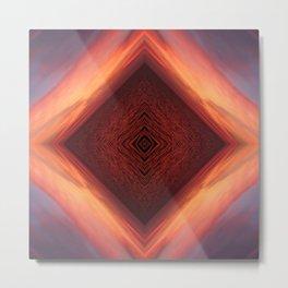 Sea Vortex Metal Print