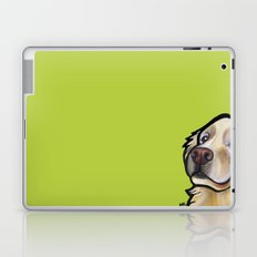 George the golden retriever Laptop & iPad Skin