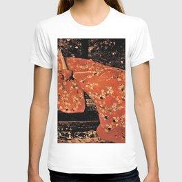 George Hendrik Breitner - The Red Kimono - Top Quality Image Edition T-shirt