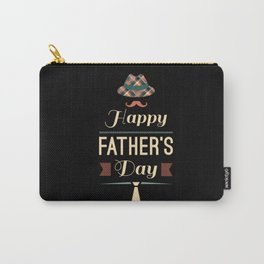 Happy Father's Day Carry-All Pouch