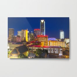 CITY F THUNDER 2 Metal Print