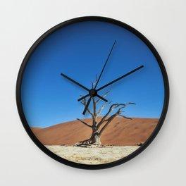 Lone Dead desert Tree Wall Clock