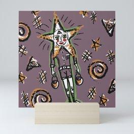 Star boy Mini Art Print