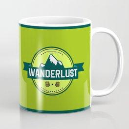 Wanderlust Mounatin Print Coffee Mug
