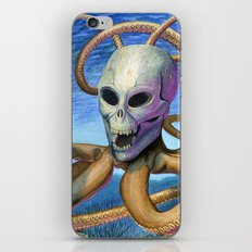 Skulloctopus iPhone & iPod Skin