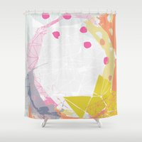 atlas Shower Curtains featuring Atlas by lizzy gray kitchens