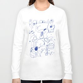 #1 Long Sleeve T-shirt
