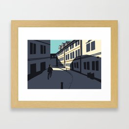 Maltézské Square Framed Art Print