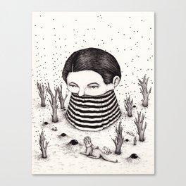 Auspicious Encounter Canvas Print