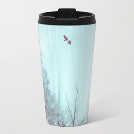 everything and more - winter forest Travel Mug