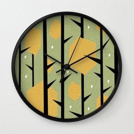 Yeti Dreams Wall Clock
