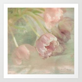 a sunny spring day Art Print