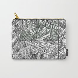 The Town of Train 3 Carry-All Pouch