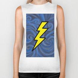 Lightning Swirl Biker Tank