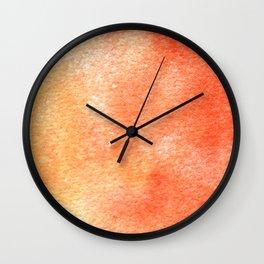Symphony in red minor II Wall Clock