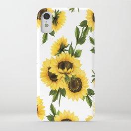Lovely Sunflower iPhone Case