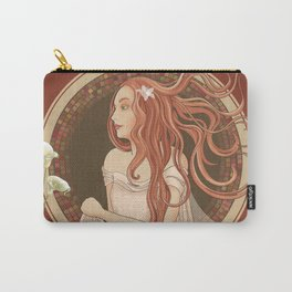 The Green Eyed Girl Carry-All Pouch