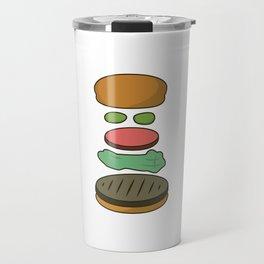 Bob's Burgers Hamburger Parts 2 Travel Mug