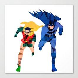 Batdude & Robin Canvas Print