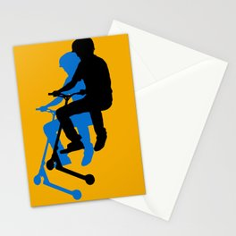 Landing Gears - Stunt Scooter Rider Stationery Cards